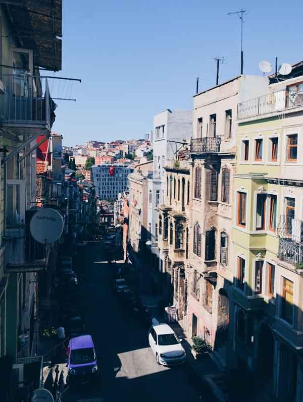 伊斯坦堡新城區風景