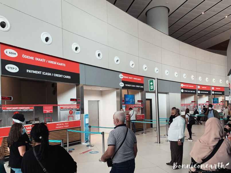 新冠肺炎伊斯坦堡機場篩檢步驟2
