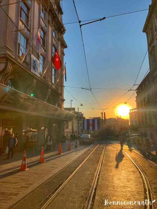 İstiklal Caddesi 伊斯提克拉街&Taksim Square 塔克西姆廣場