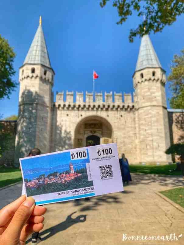 The Topkapı Palace- Topkapı Sarayı 托普卡匹皇宮