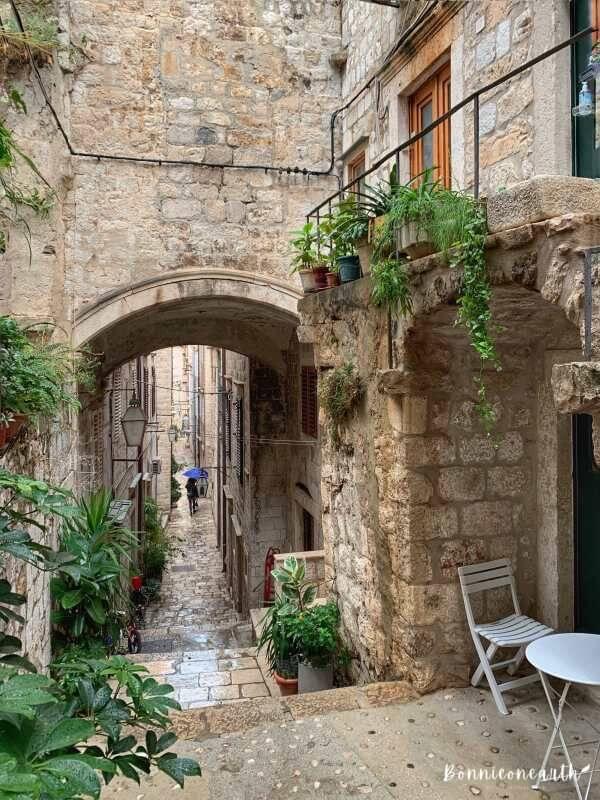 克羅埃西亞Dubrovnik杜布羅夫城市街景1