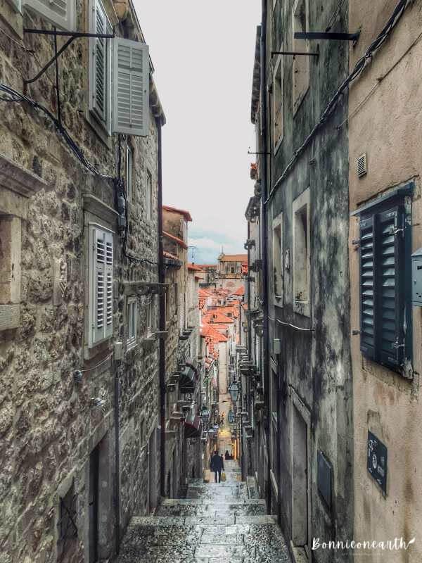 克羅埃西亞Dubrovnik杜布羅夫城市街景4