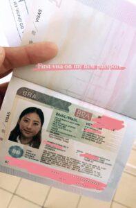 巴西簽證-成功申請巴西簽證
