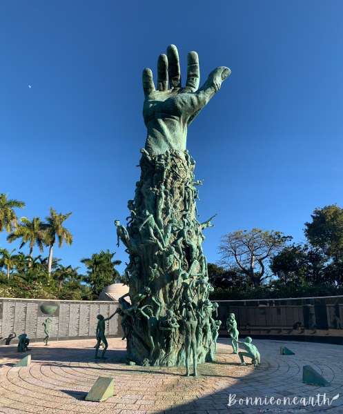Miami邁阿密|美國-Bonnieonearth- Holocaust Memorial2